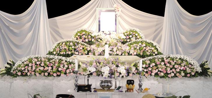 花祭壇例45万円