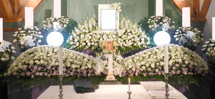 花祭壇例35万円