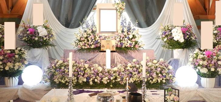 花祭壇例15万円