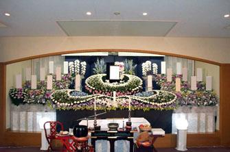 ひので斎場花祭壇施行例