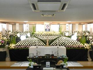 葬儀、花祭壇