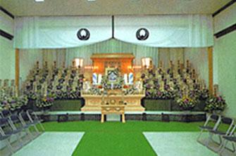 禅林寺霊泉斎場設営イメージ