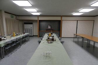 禅林寺霊泉斎場2F控室
